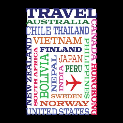 Travel Places design - Juliste 20x30 cm