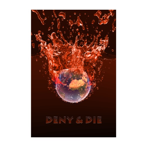 Global Warming Red Edition - Poster 20x30 cm