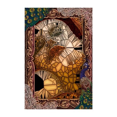 ephemeral vitrail new - Poster 20 x 30 cm