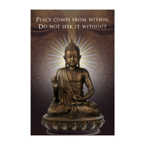 Peace from Within - Poster 8 x 12 (20x30 cm)
