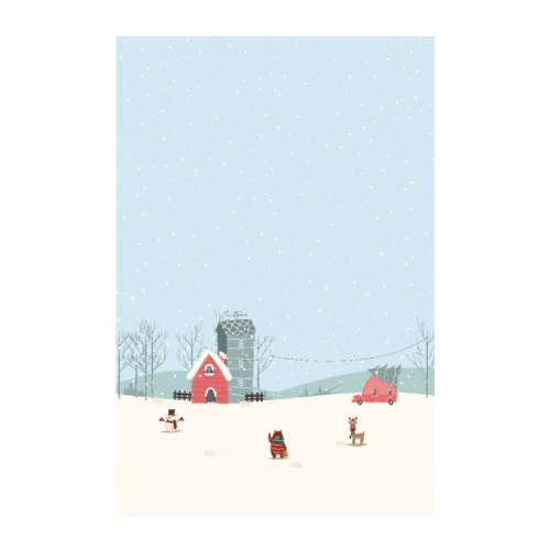 Christmas design v4 - Poster 20x30 cm