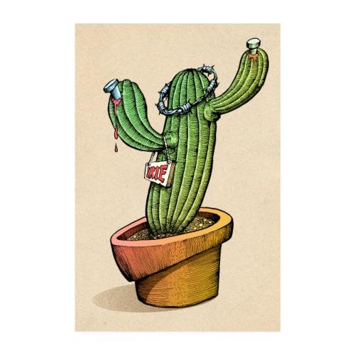 Kaktus - Poster 20x30 cm