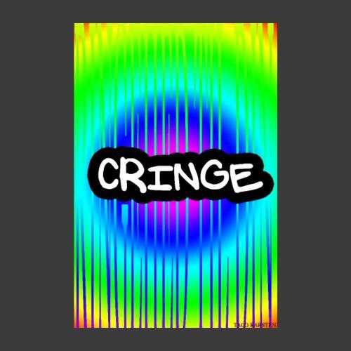 CRINGE TIL DIN VAEG - Poster 20x30 cm