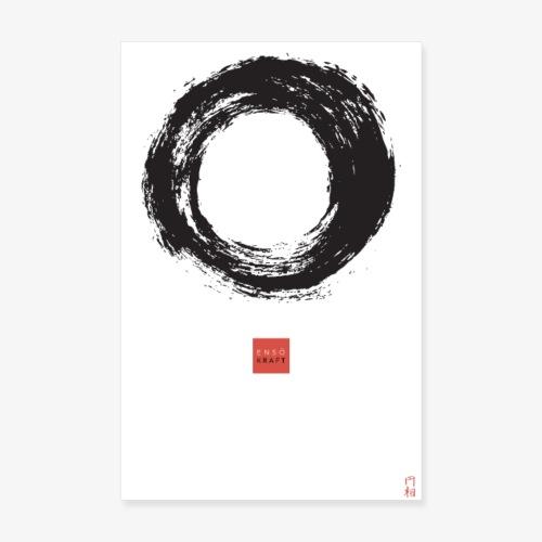 EnsoKraft Enso Poster - Poster 20x30 cm