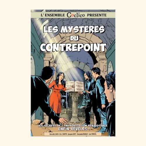 Les mystères du contrepoint - Affiche Coclico - Poster 20 x 30 cm