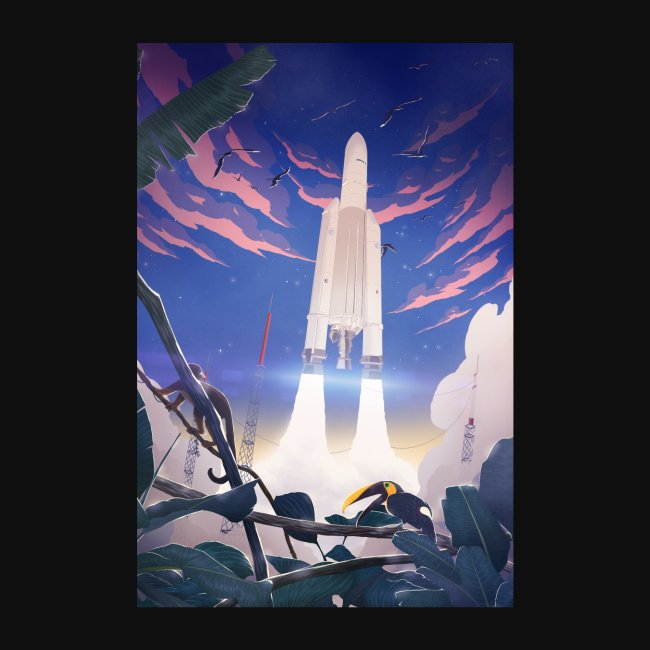 Ariane 5 by Faunesque