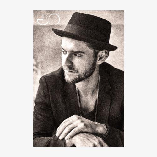 Johannes Oerding Foto - Poster 20x30 cm