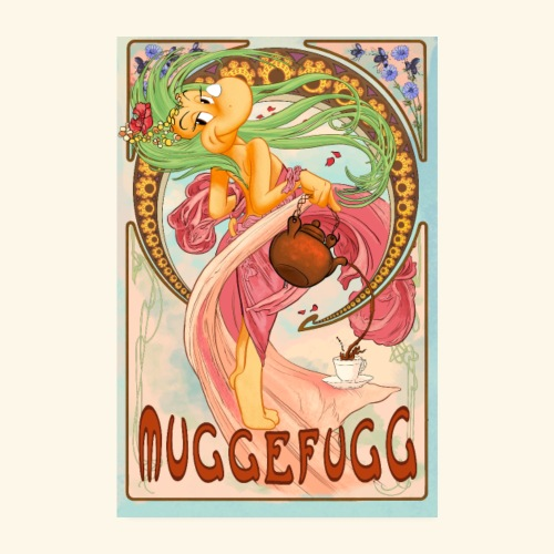 Muggefugg - Poster 20x30 cm