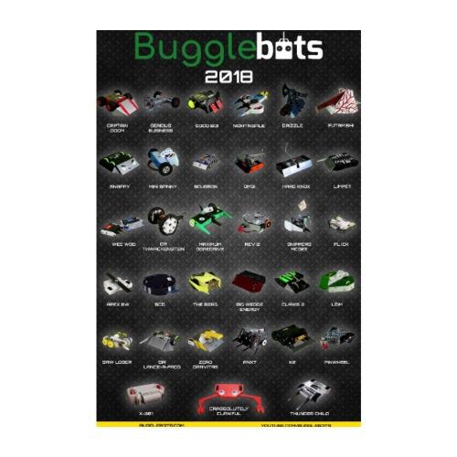 Bugglebots 2018 Poster - Poster 8 x 12 (20x30 cm)