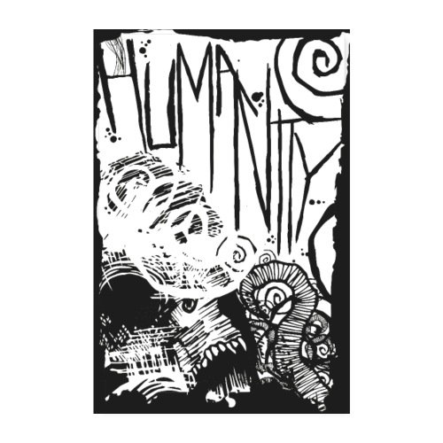 Humanity - Poster 20x30 cm