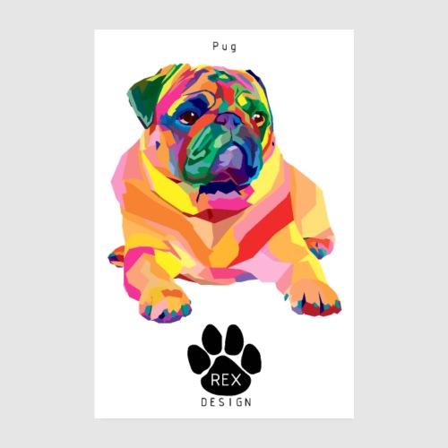 A Pug Life - Poster 8 x 12 (20x30 cm)