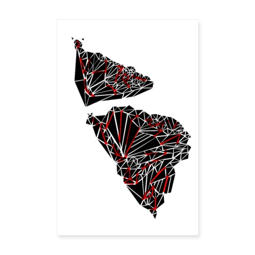 TRY BUTTERFLY ANGLE - Poster 20x30 cm