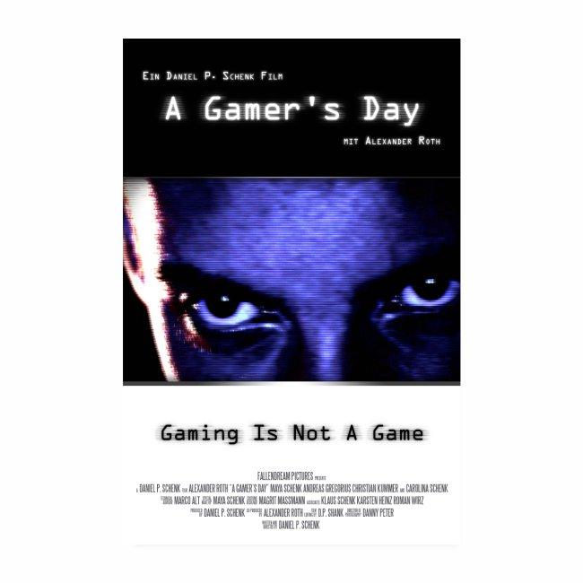A Gamer's Day - Filmposter für Old-School-Gamer