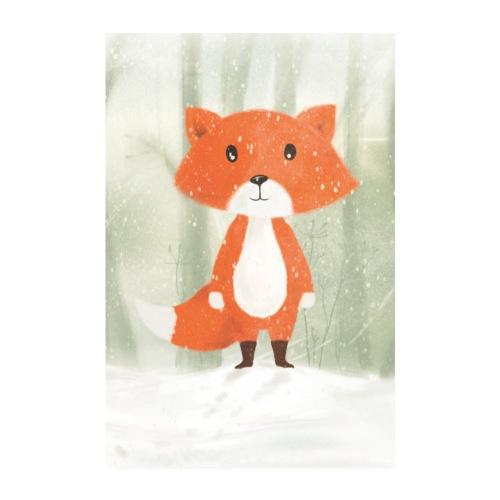 Der Fuchs - Poster 20x30 cm