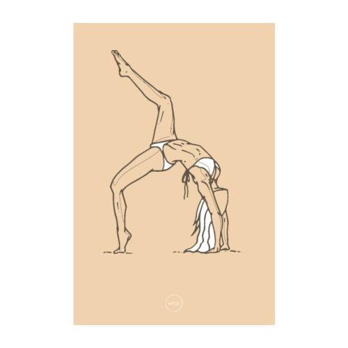 Yoga - Poster 20 x 30 cm