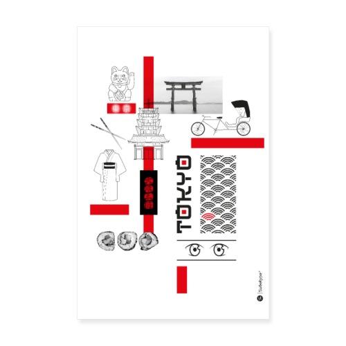 TOKYO - Poster 20 x 30 cm