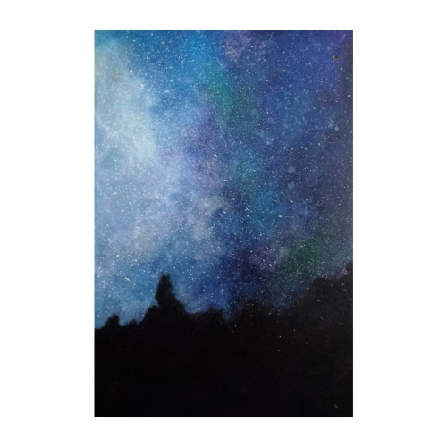 Obraz Gwiazdy, przedruk z oryginału. - Plakat o wymiarach 20x30 cm
