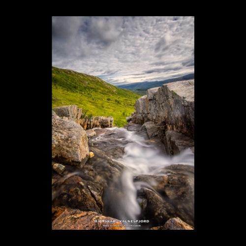 Midtskar - Valnesfjord - Poster 20x30 cm