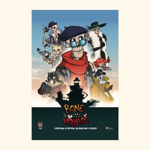 Movie Stijl Poster - Poster 8 x 12 (20x30 cm)