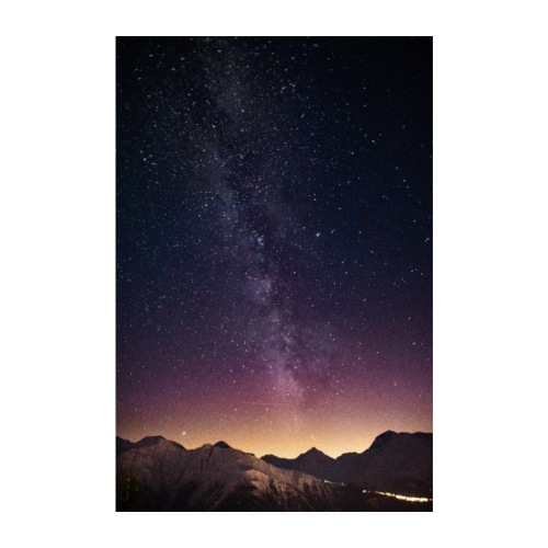 Milkyway - Poster 20x30 cm