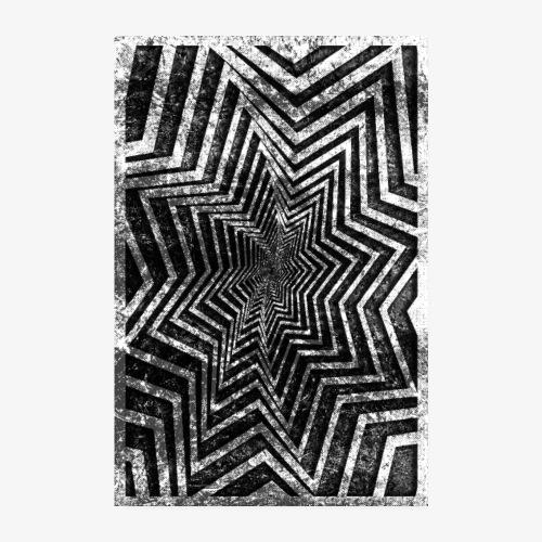 Gwiazda Grunge - Plakat o wymiarach 20x30 cm