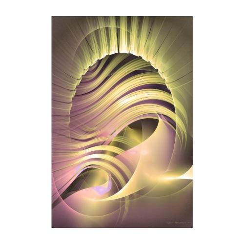 Abstrakti juliste - Fascinatio lucis by Sipo - Juliste 20x30 cm