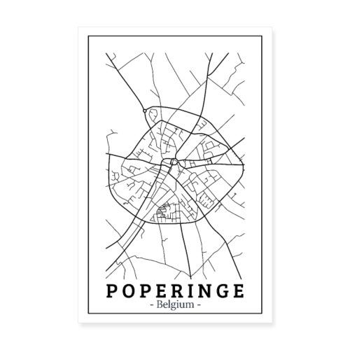 Poster Poperinge - Poster 20x30 cm