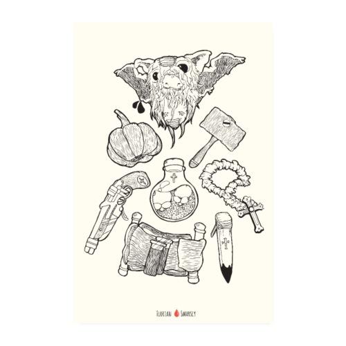 Bloody Sundays - Poster 20x30 cm