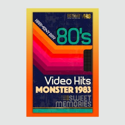 VHS Kassette - Poster 20x30 cm