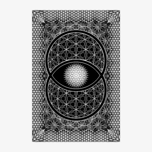 Vesica Picsis Sacred Geometry Poster - Poster 8 x 12 (20x30 cm)