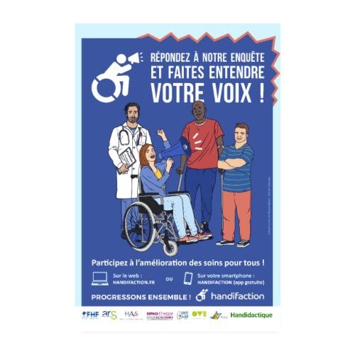 Affiche Handifaction 2019 - Poster 20 x 30 cm
