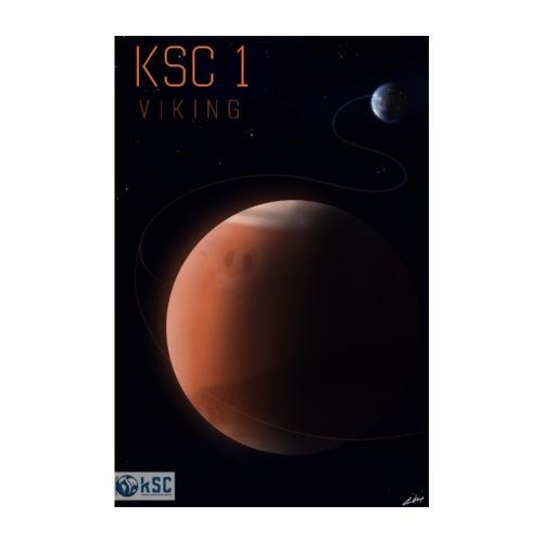 KSC1 - Viking - Visuel officiel du challenge - Poster 20 x 30 cm