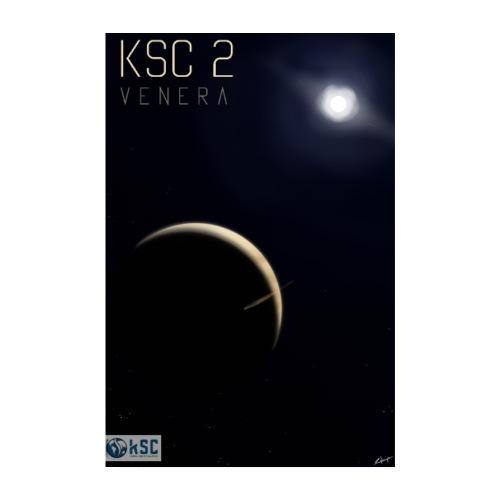 KSC2 - Hayabusa2 - Visuel officiel du challenge - Poster 20 x 30 cm