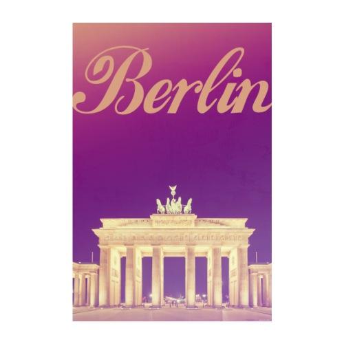 BERLIN Capitale de l'Allemagne - Poster 20 x 30 cm