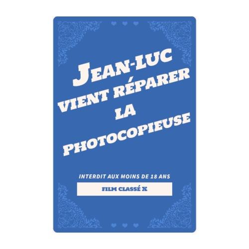 Poster Jean-Luc répare la photocopieuse - Poster 20 x 30 cm