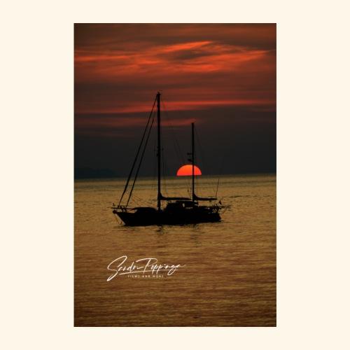 sailingboat - Poster 8 x 12 (20x30 cm)