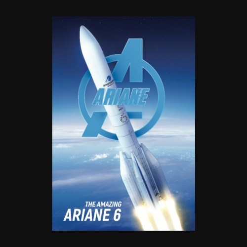 The Amazing Ariane 6 - Poster 8 x 12 (20x30 cm)
