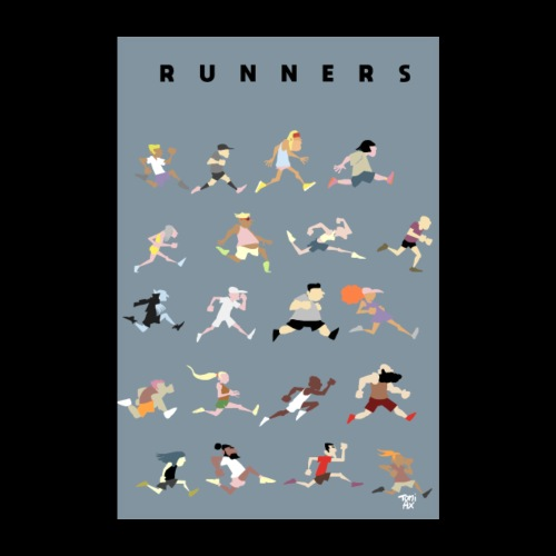 Runners - Poster 20 x 30 cm