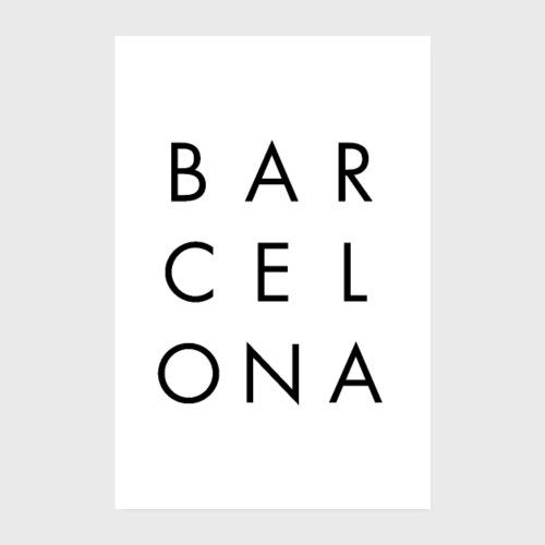 BARCELONA - Poster 20 x 30 cm