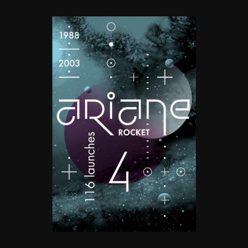 ARIANE 4 - Space void - Poster 8 x 12 (20x30 cm)