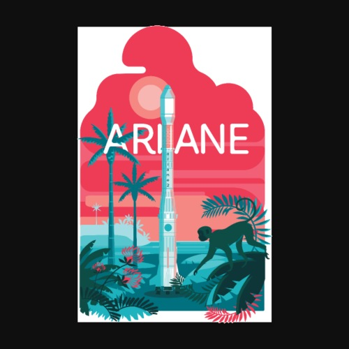 Ariane 2 - Mysterious jungle - Poster 8 x 12 (20x30 cm)