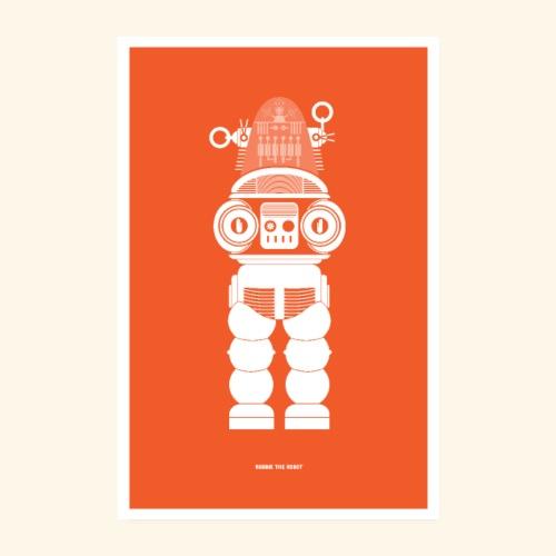 Robbie The Robot - Poster 8 x 12 (20x30 cm)