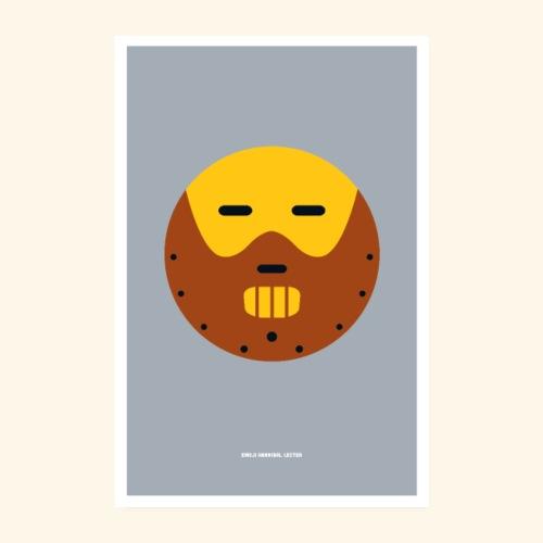 Emoji Lecter - Poster 8 x 12 (20x30 cm)