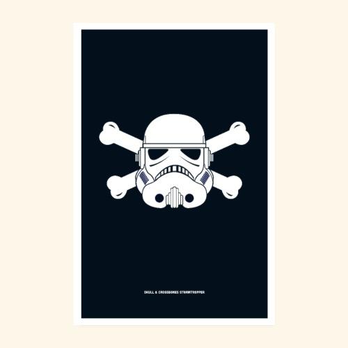 Skull & Crossbones Stormtropper - Poster 8 x 12 (20x30 cm)