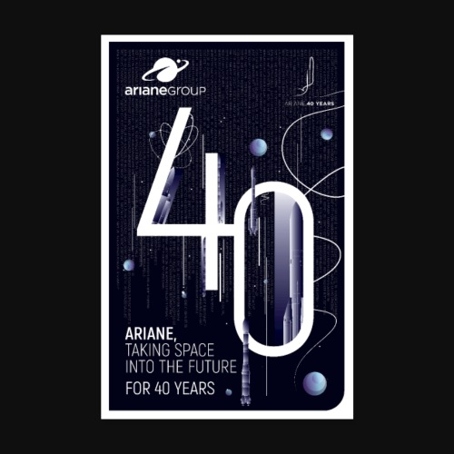 40 years Ariane by Mathilde Magnon - Poster 8 x 12 (20x30 cm)