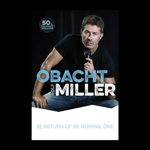 OBACHT MILLER - Das Poster - Poster 20x30 cm