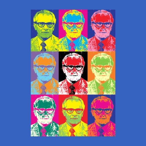 Erich Honecker - DDR im PopArt Stil - Poster 20x30 cm