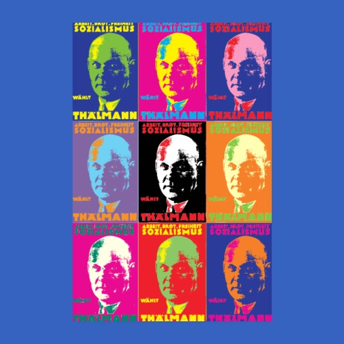 Ernst Thälmann Poster Digital Art - Poster 20x30 cm
