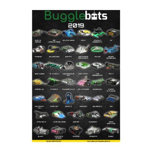 Bugglebots 2019 Poster - Poster 8 x 12 (20x30 cm)