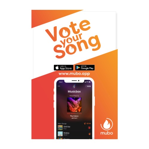 Vote your Song Poster - Poster 20x30 cm